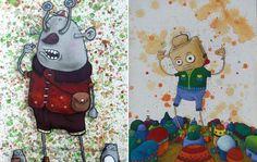 A partir do dia 4 de agosto, a galeria Jonathan LeVine recebe a mostra coletiva Two-Way Street, com quatro talentos da arte urbana brasileira: Chivitz, Nove, Presto e Ramon Martins. O título da exp…