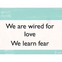 Goodness. Dr. Caroline Leaf ~ 2 Timothy 1:7 For God has NOT given us the spirit of fear, BUT of power and love and of a sound mind!