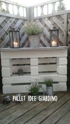 Recycled Pallets, Wooden Pallets, Recycled Materials, 1001 Pallets, Diy Pallet Projects, Garden Projects, Outdoor Pallet Projects, Pallet Creations, Diy Garden Decor