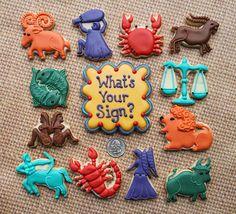 Zodiac Cookies