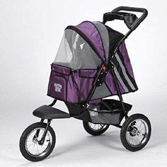 Guardian Gear Plum Sprinter EXT II Pet Stroller, Plenty Of Space In Bottom Storage To Keep Poop Bags And Water. *** Review more details here : Dog strollers