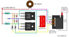 Product Description : Finished ZVS Tesla coil power boost high voltage generator drive plate induction heating module production This is the design of a foreigner. Tesla Coil Circuit, Diy Tesla Coil, Cool Electronics, Electronics Components, Electronics Projects, Electronic Circuit Design, Electronic Engineering, Electrical Engineering, Circuit Components