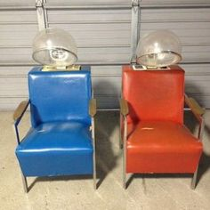 VINTAGE HAIR DRYER CHAIRS & Vintage pink beauty shop dryer chairs | Nostalgia | Pinterest ...
