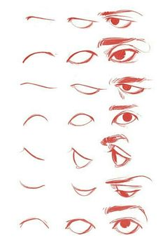 Drawing Techniques, Drawing Tips, Drawing Ideas, Drawing Tutorials, Art Tutorials, Boy Drawing, Anatomy Drawing, Cartoon Eyes Drawing, Male Drawing