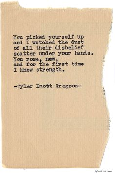 Typewriter Series #837 by Tyler Knott Gregson *Pre-Order my book, Chasers of the Light, and donate $1 to @TWLOHA and get a free book plate signed by me :)  Click the link in my bio, or go here:  tylerknott.com/chasers*