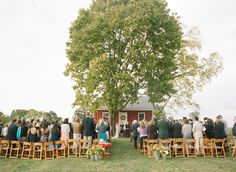 outdoor ceremony | Abby Jiu #wedding