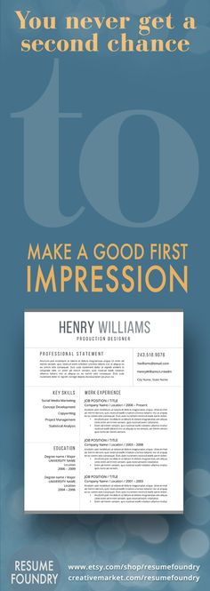 make your first impression count with a professionally designed resume template easy to use - Good Resume Impression What A Good Resume Means For Your Job Search Chances