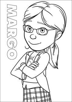 Dibujo de Lucy de Mi Villano Favorito para colorear  Dibujos para