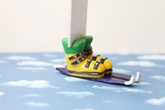 Skiing Boots Funny LegsBookmark by NanayBookmarks on Etsy, $20.00