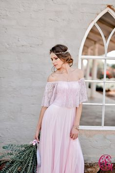 Full Length Gelique Jessy Dress with a Lace Frill and Tulle skirt Every Woman, No Frills, Summer Wedding, Custom Made, Evening Dresses, That Look, Tulle, Feminine, Bridesmaid Dresses