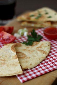 Tinkas Welt: Quesadillas mit verschiedenen Füllungen - eine schnelle kleine Mahlzeit