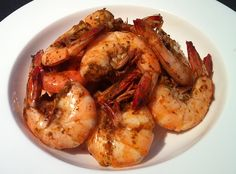 Shrimp cocktail is all very fine, but my favorite way to prepare shrimp is steamed with Old Bay seasoning.