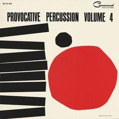 So percussive! vintage record album cover. via allan peters
