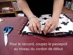 Techniques Couture, Sewing Techniques, Couture Sewing, Craft Videos, Craft Tutorials, Cousins, Sewing Projects, Crafts, Snail Farming