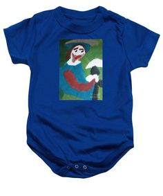 Patrick Francis Royal Blue Designer Baby Onesie featuring the painting Portrait Of Camille Roulin 2015 - After Vincent Van Gogh by Patrick Francis Onesies, Baby Onesie, Red Ribbon, Vincent Van Gogh, Great Artists, Baby Design, Fine Art America, Designer Baby, The Incredibles