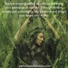 shaman woman…she is in you too.
