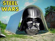 Join the arch side - steel wars style! #starwars #theforceawakens #steelmaster #darthvader