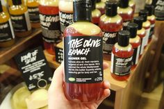 LUSH: Summer Collection 2015 | Making My Own Creamy Candy Bar | One Slice of Lemon #lush #theolivebranch #lushaddict #bbloggers #bloggers #showergel