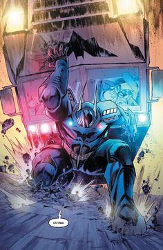 Detective Comics - DC Sneak Peek Jim Gordon as Batman !!!
