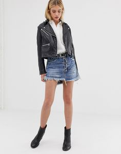Order One Teaspoon exposed button denim skirt with raw hem online today at ASOS for fast delivery, multiple payment options and hassle-free returns (Ts&Cs apply). Get the latest trends with ASOS. Structured Dress, Boohoo Petite, Lace Insert, Karen Millen, Pop Fashion, Denim Skirt, Fashion Online, Latest Trends, Asos