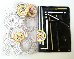 City Lights. Sketchbook Project.