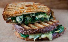 10 Light Vegetarian Panini | Crazy Food Blog