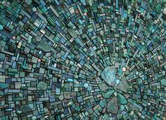 """""""Nebula Aqua"""" 2010 Residential commission; Special Recognition 2010 International Prize for Mosaic art and Architecture, Italy"""