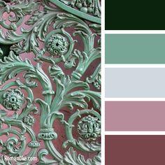 Делюсь палитрами))) - цвета компаньоны в интерьере таблица