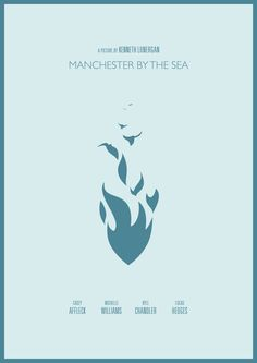 Manchester by the Sea (2016) - Minimal graphic design poster movie #manchesterbythesea #manchester #graphicdesign