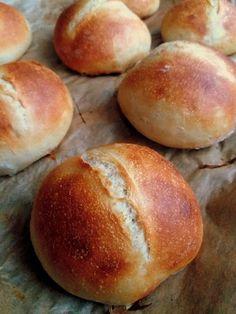 English Food, Bread Rolls, Bread Recipes, Hamburger, Fries, Food And Drink, Eat, French Loaf, Bakken