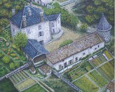 Saint Symphorien, Saint Jean, Rhone, Paris Skyline, Mansions, House Styles, Travel, Alps, Round Tower