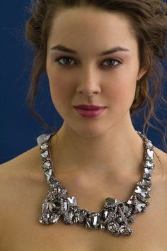 2011 Bridal Style Inspiration: Stunning Statement Necklaces | OneWed