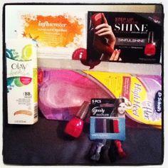 The goodies that were in my Sunkissed Voxbox! #SunVoxBox