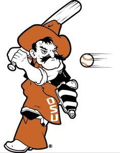 Baseball Pete Osu Baseball, Baseball Live, Oklahoma State University, Oklahoma State Cowboys, State Crafts, Go Pokes, Tigger, Disney Characters