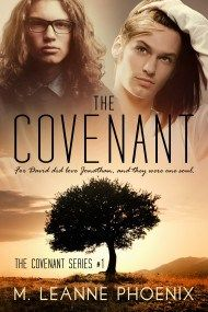 The Covenant by M. LeAnne Phoenix.  From the cover to the last word, everything about this book is exceptional.  CoolDudes Publishing publishes only the very best in M/M fiction, and Ms Phoenix delivers a punch with Part 1 in The Covenant Series.  Available at Amazon and Cooldudes Publishing for your enjoyment and delight.  See the CDP website for the blurb.
