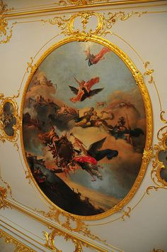 Catherine palace, ceiling