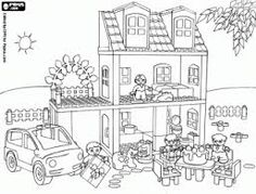 Coloriages coloring sheet playmobil tableau des gar ons pinterest coloring playmobil and - Dessin a colorier playmobil moto ...
