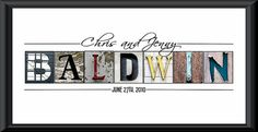 "cute pic for after we say ""I do"" & also great gift idea for newlyweds to hang in their homes, too!"