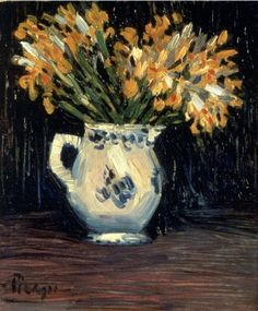 Picasso, Yellow Irises