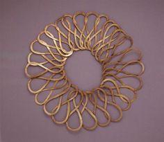 Necklace |  Alexander Calder.  Brass.  ca 1950