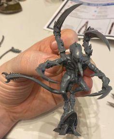Warhammer 40k Tyranids, Warhammer Models, War Hammer, Hobby Ideas, Mini Paintings, Character Drawing, Bugs, Hobbies, Miniatures