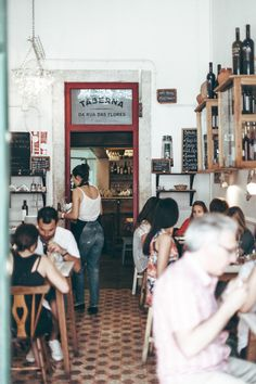 Taberna da Rua das Flores, Lisbon, Portugal. Best traditional dishes in a nice retro restaurant!