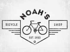 Noah's Bicycle Shop by Justin Barber -- great logo
