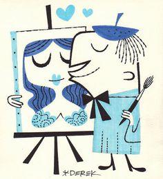The Amorous Artist by Derek Yaniger