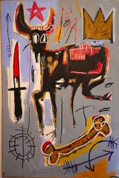 basquiat cow - Google Search