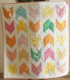 a quilt is nice: girlie pow wow