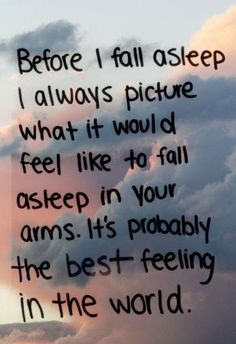 I know it will be! I miss you so much! I can't wait till I get to fall asleep cuddled up with you.