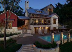 Architect: INsite Architecture Inc -  HGTV 2005 Dream Home Exterior Poolside & Lakeside View