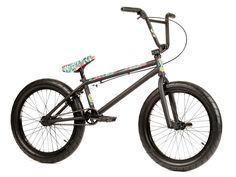 "Stereo Bikes ""Speaker Plus"" 2017 BMX Bike - Sooty Hawaiian Black 