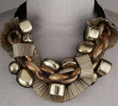 Chunky Necklace-Trends 2012.